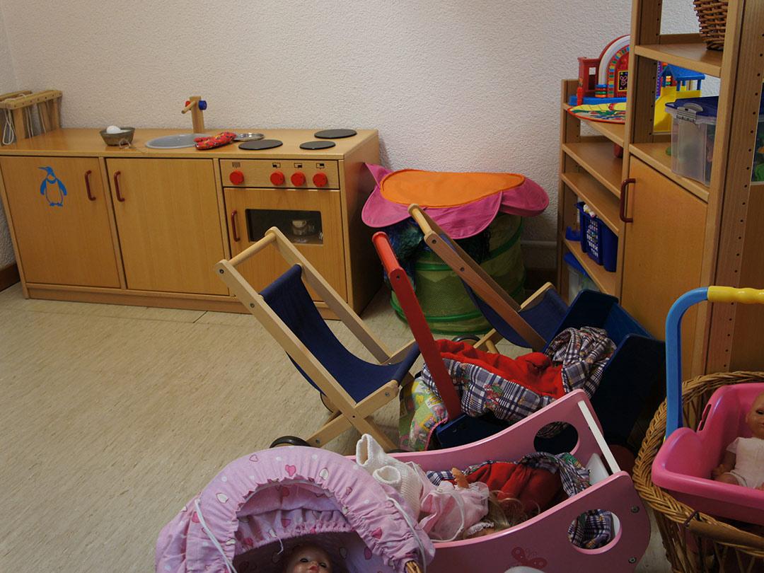 Kinderkrippe Stärnschnuppe altersgemischte Gruppe: Bastelmaterial: Spielküche