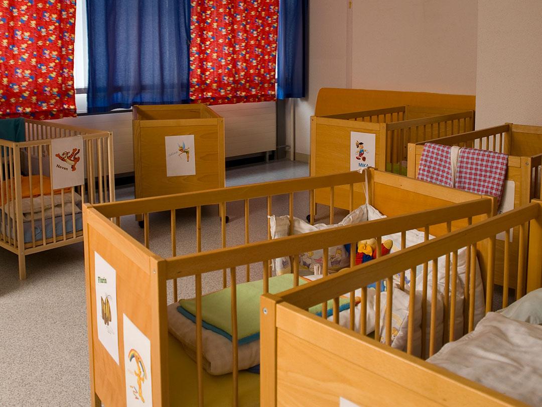 Kinderkrippe Stärnschnuppe Babygruppe: Babyschlafzimmer
