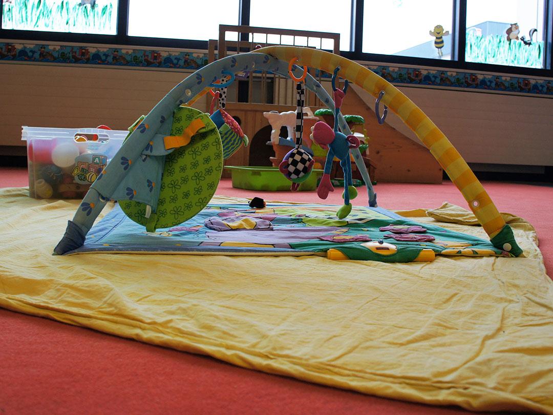 KITA Stärnschnuppe Babygruppe: Krabbelteppich