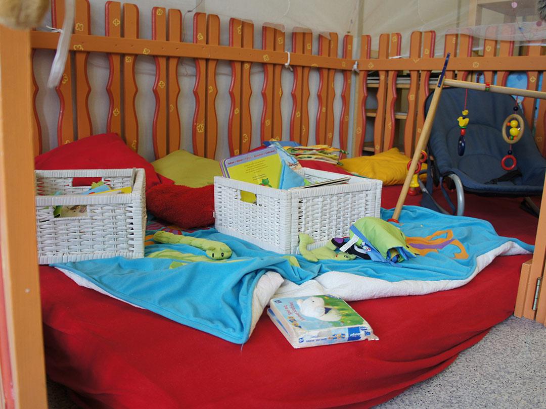 Kinderkrippe Stärnschnuppe Babygruppe: Spielecke