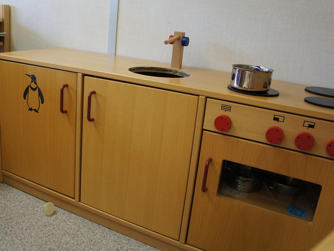 Kinderkrippe Stärnschnuppe Babygruppe: Spielküche