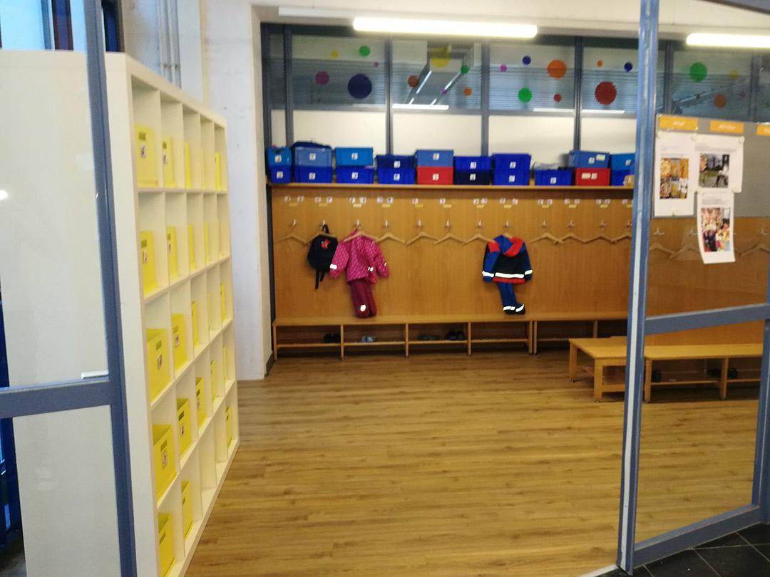 Kinderkrippe Stärnschnuppe: Garderobe