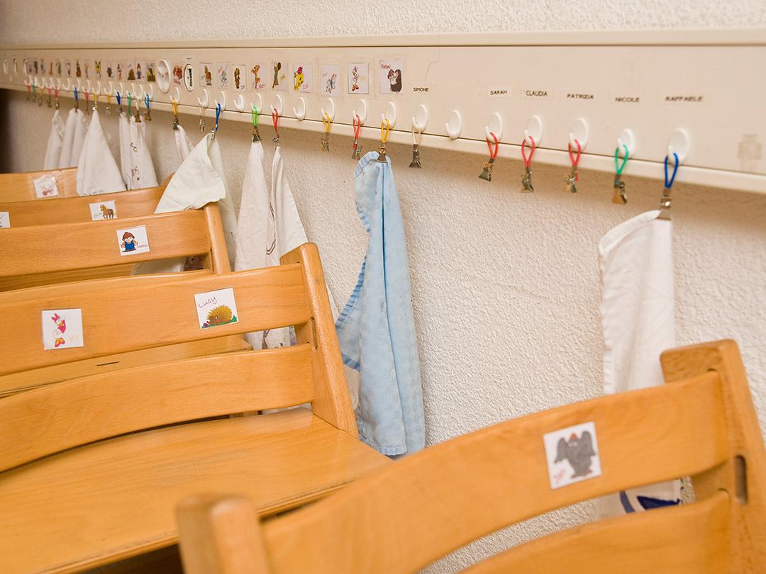 KITA Stärnschnuppe: Stokke Stühle