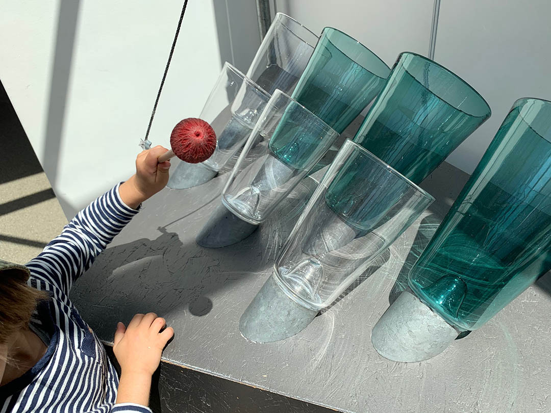 KITA Stärnschnuppe Ferienbetreuung Sommer: Ausflug Glasi Spielplatz Hergiswil