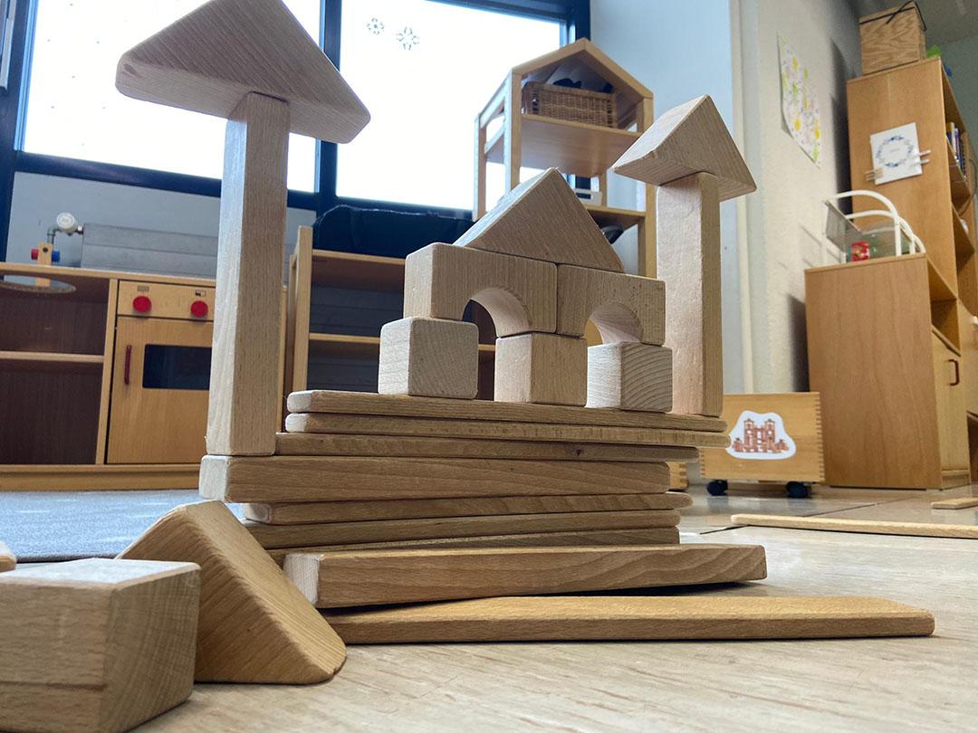 KITA Stärnschnuppe Aktivitäten: Türme bauen