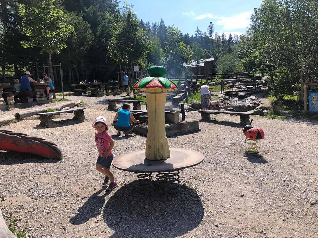 KITA Stärnschnuppe Ferienbetreuung Sommer: Ausflug auf den Krienseregg Spielplatz