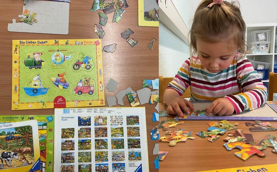 Kinderkrippe Staernschnuppe: wo ist das richtige Puzzleteil?